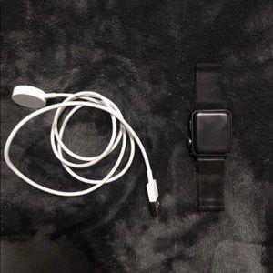 Black Series 3 Apple Watch 38 mm